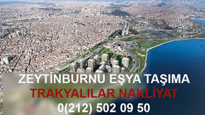 Zeytinburnu Eşya Taşıma Firması